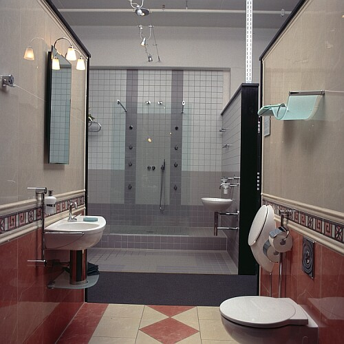 Aufteilung badezimmer architektur allgemein neues bad for Aufteilung badezimmer